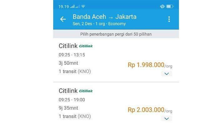 Harga Tiket Pesawat Mahal Ongkos Kirim Belanja Online Juga Naik Serambi Indonesia