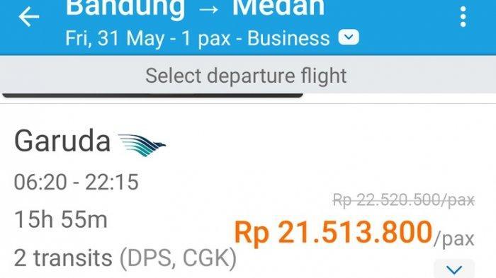 Mengapa Harga Tiket Pesawat Dalam Negeri Capai Rp 21 Juta di Traveloka? Ini Penjelasannya