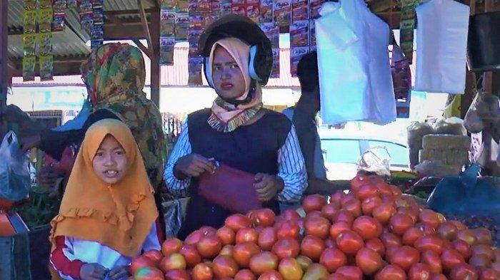 Menjelang Ramadhan, Harga Tomat Masih Normal di Meulaboh, Cabai dan Bawang Merah Merangkak Naik