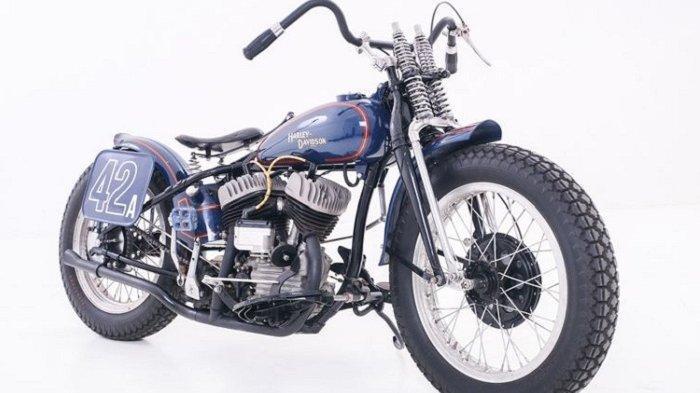 Motor Harley-Davidson Zaman Perang Direstorasi, Kembali Tampil Keren