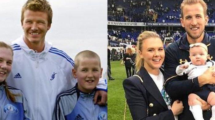 Bertemu David Beckham 13 Tahun Silam, Siapa Sangka Harry Kane Juga Temukan Pasangan Hidupnya ini