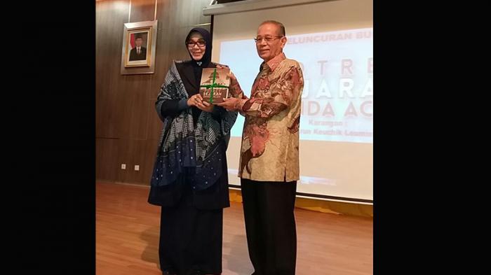Harun Keuchik Leumik Luncurkan Buku Potret Sejarah Banda Aceh