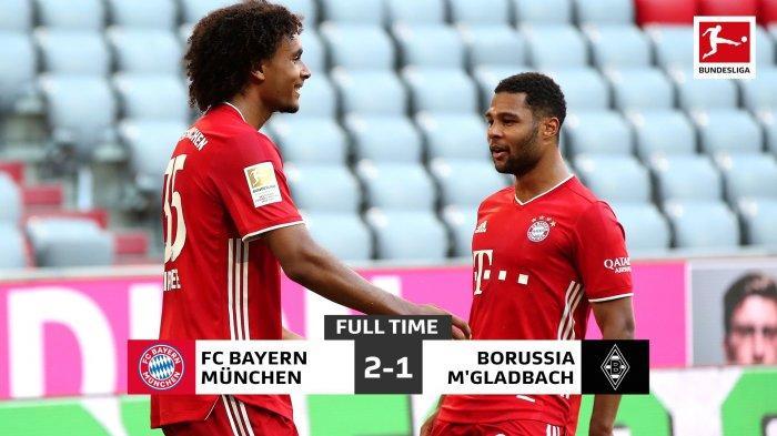 Hasil Liga Jerman, Bungkam Gladbach, Bayern Muenchen Bisa Juara Bundesliga di Markas Werder Bremen