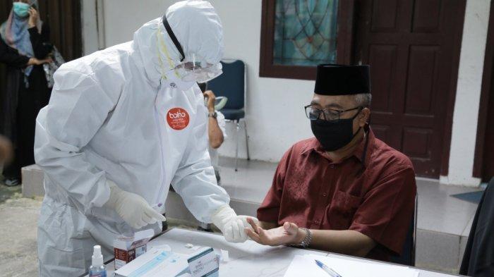Bupati Aceh Barat Reaktif Setelah di Rapid Test, Kunjungan ke Pendopo Ditiadakan