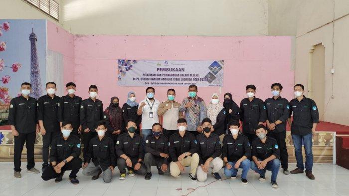 Dukung Peningkatan Kualitas SDM Aceh, SBA Terima 20 Peserta Magang dari Disnakermobduk Provinsi Aceh