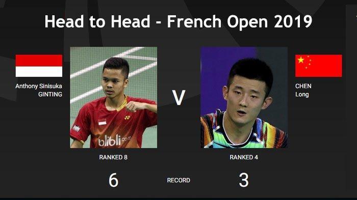 Semifinal French Open 2019 - Head to Head Marcus/Kevin, Praveen/Melati, Anthony, Jojo Vs Lawannya
