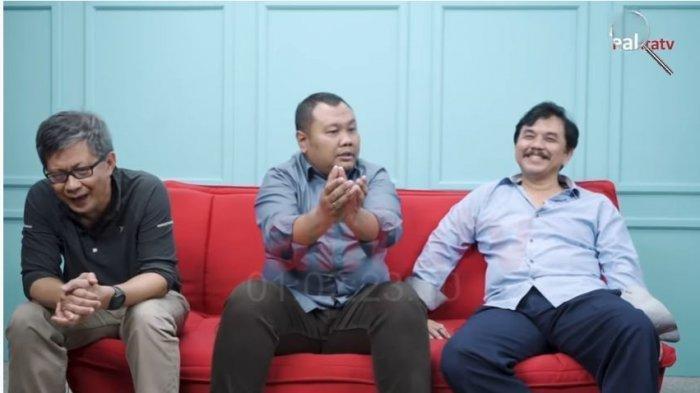 Hendri Satrio Sebut PSI Takut Kritik Jokowi karena Urusan Aliran Dana, Rocky Gerung Langsung Tertawa