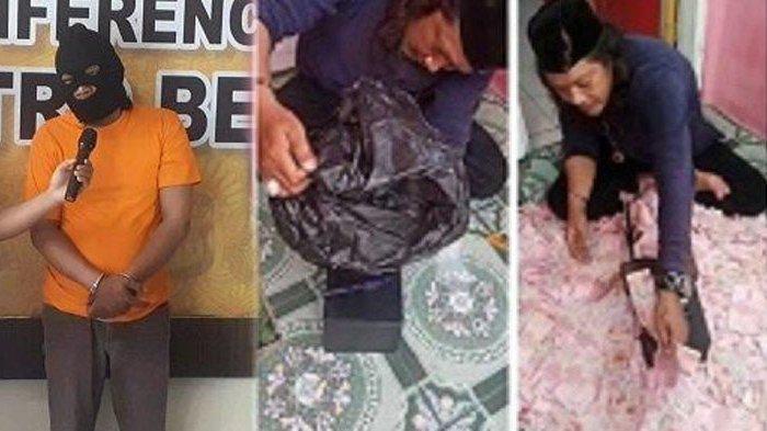 Selain Gandakan Uang Palsu, Pria Gondrong Ini Tersangka Persetubuhan Anak, Nikahi Gadis Bawah Umur