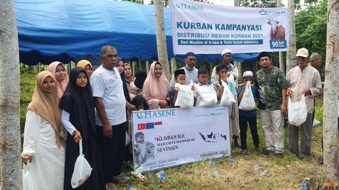 Muslim Eropa-Turki Sumbang 90 Sapi Kurban Ke Aceh, CekMidi: Turki Peduli Aceh dari Dulu dan Sekarang