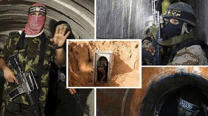 Ini Terowongan Metro Digunakan Hamas Luncurkan Roket ke Israel, Menghubungkan ke Semua Desa di Gaza