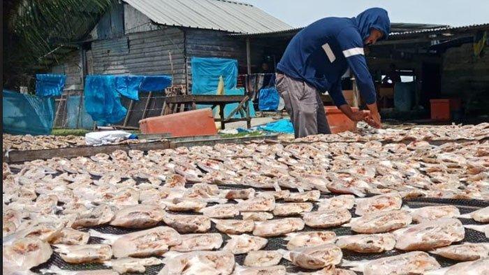 Permintaan Ikan Asin di Bulan Ramadhan Menurun