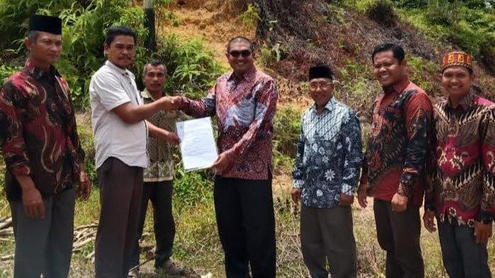 Kemenag Aceh Singkil Terima Hibah Tanah untuk KUA di Kota Baharu