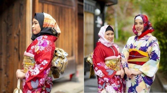 Hijab Wagara, Kimono Khusus untuk Wanita Muslim yang Bisa Disewa dengan Harga Rp 38 Ribuan
