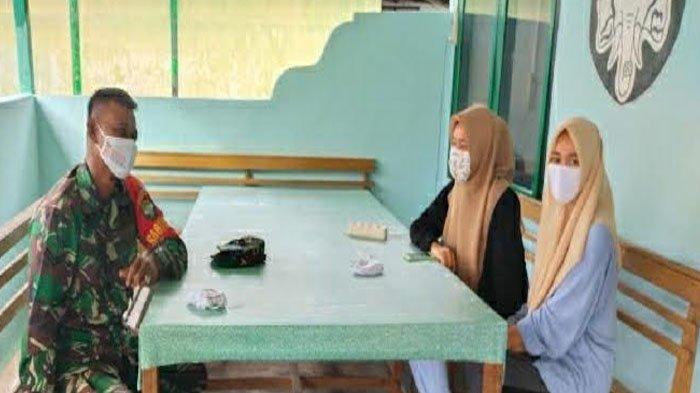 Dua Gadis Kota Fajar Nekat Datangi Koramil Kluet Utara, Ternyata Tujuannya untuk Minta Hal Ini