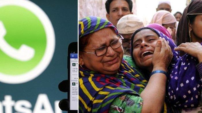 Berita Hoaks di WhatsApp, Pria di India Ini Dihajar Orang Satu Kampung Sampai Tewas