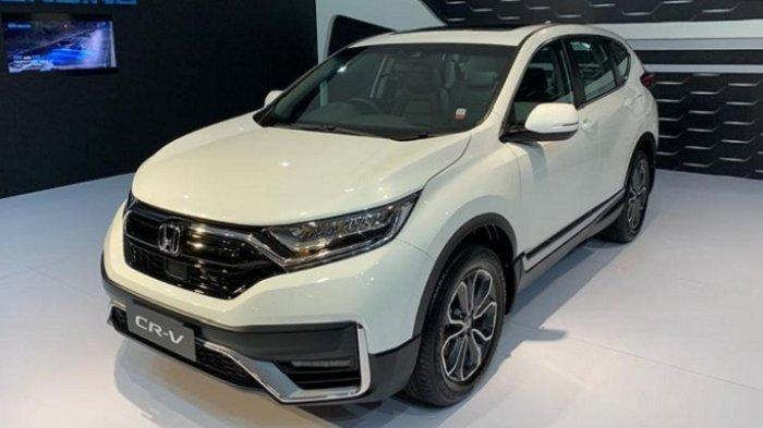 Honda CR-V Facelift, Tampil Lebih Segar dan Fitur Makin Canggih