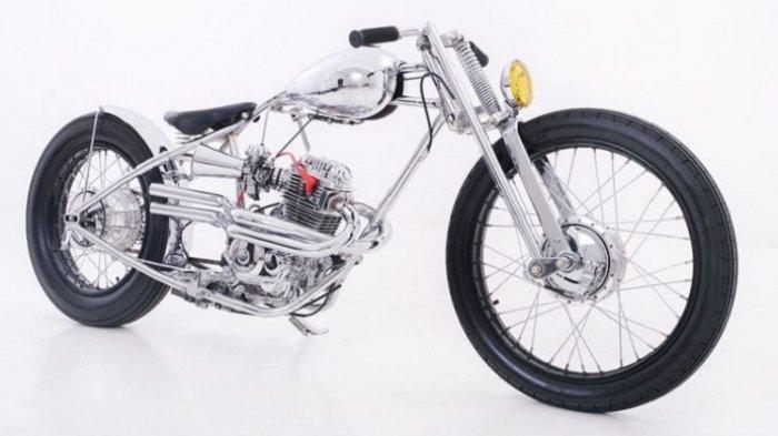 Motor Bergaya Chopper Lagi Ngetrend, Sampai-sampai MegaPro Jadi Seperti Sepeda Bermesin