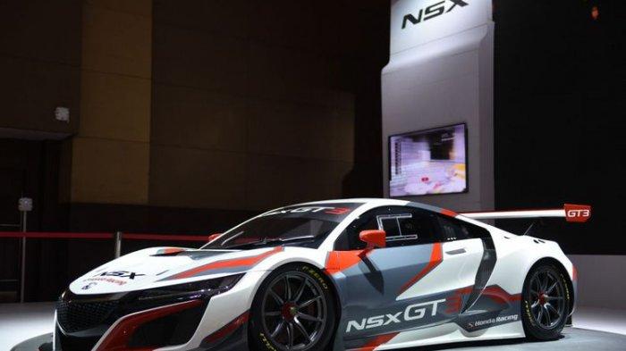 Tampilan Honda NSX GT3 Mampu Menarik Perhatian Pengunjung IIMS 2018