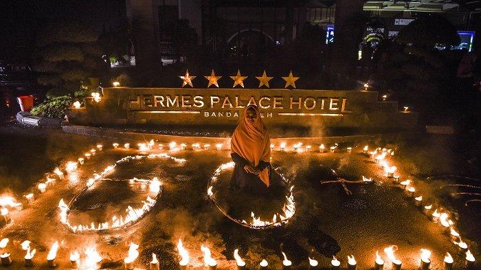 Genset Hotel Hermes Palace Banda Aceh Meledak Dan Terbakar Ini Dugaan Penyebabnya Serambi Indonesia