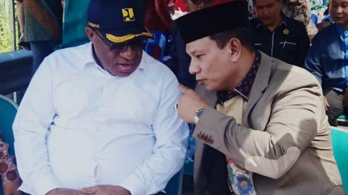 Wamen PUPR, HRD, dan Bupati Sarkawi Tinjau Lokasi Jembatan Wihni Enang-Enang, Pembangunan Mulai 2021
