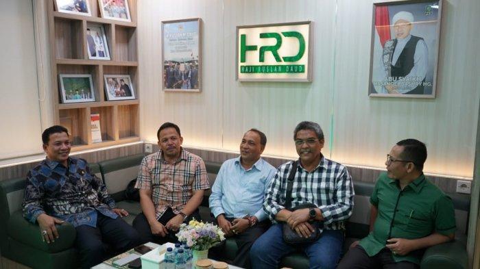 HRD Terima Kunjungan Bupati Pijay, Wakil Ketua KPA Pusat dan Sekjen PA di Gedung DPR