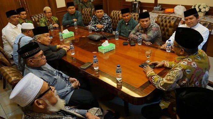 HRD Bersama Ulama Aceh Temui Ketua Umum PBNU, Bahas Kemandirian Ekonomi Dayah