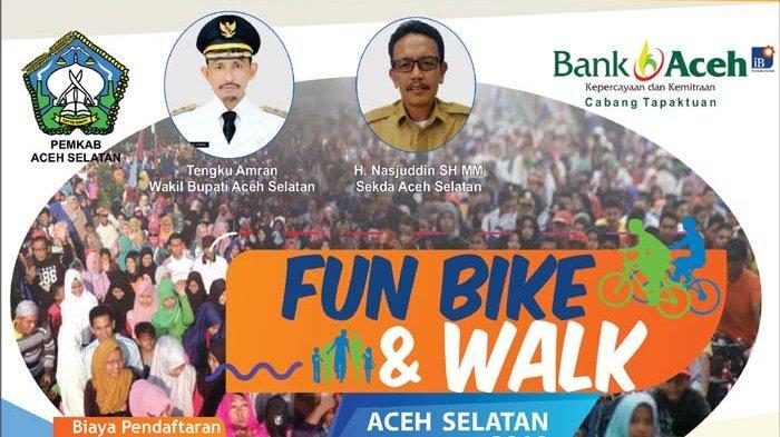 Waktu Tinggal Dua Hari Lagi, Pendaftaran Fun Bike Aceh Selatan Segera Berakhir