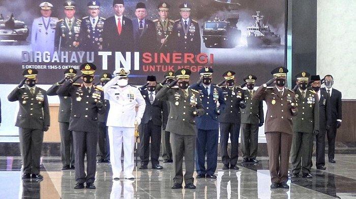 Upacara HUT Ke-75 TNI Digelar Secara Virtual