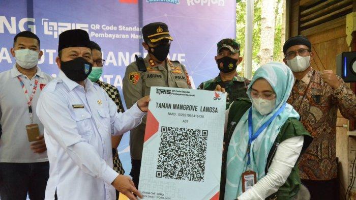 Objek Wisata Manggrove Kuala Langsa Kini Gunakan Transaksi Digital
