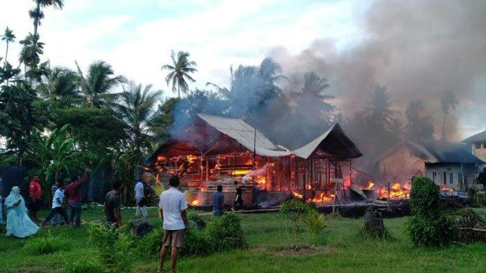 Sembilan Rumah dan Toko Terbakar di Aceh Besar dalam Dua Hari Terakhir