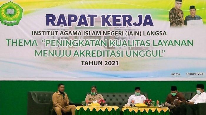 Tiga Pimpinan Daerah Pesisir Timur Provinsi Aceh Siap Bersinergi Wujudkan IAIN Langsa ke UIN