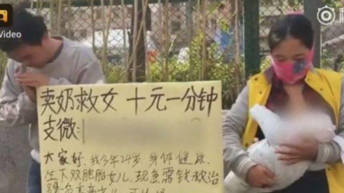 Ibu di China Jual ASI untuk Bayar Pengobatan Bayinya