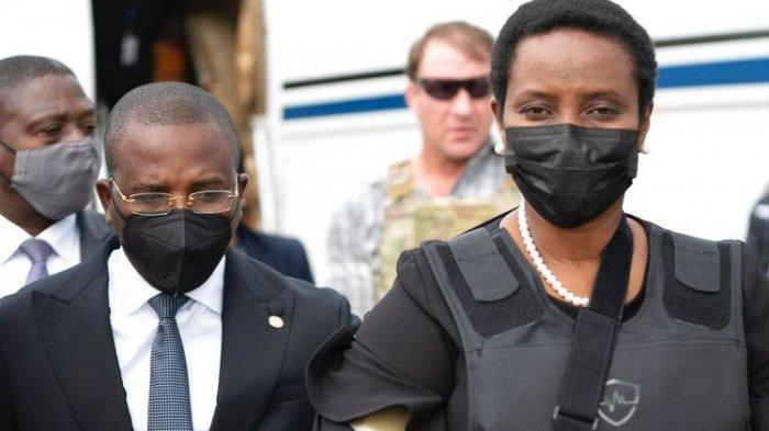 Istri Mendiang Presiden Jovenel Moise yang Tewas Ditembak Pulang ke Haiti, Pakai Rompi Anti-Peluru