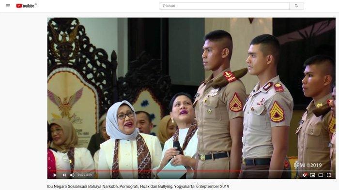 Kaget Bertemu Taruna dengan Tinggi 190 Cm, Iriana Jokowi Sontak Menengadah dan Bilang Ini