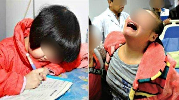 Bocah SD Meninggal Usai Dipukul Ibunya karena Tak Kerjakan PR, Sang Ibu Menyesal dan Menangis