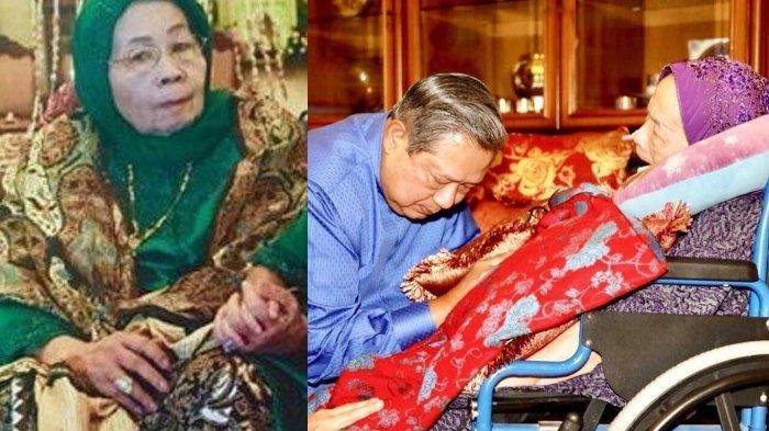 Ibunda SBY Meninggal Dunia, Ini Riwayat Penyakit, Ucapan Belasungkawa hingga Rencana Pemakaman