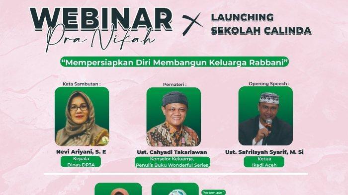 Sekolah Calinda 'Calon Linto dan Dara Baro' Jadi Program Terbaru IKADI Aceh