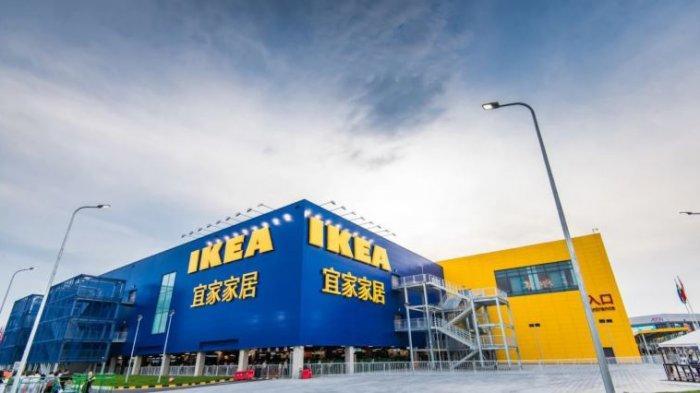 Viral, Seorang Wanita Lakukan Perbuatan tak Pantas di Ranjang dan Sofa Toko IKEA di China