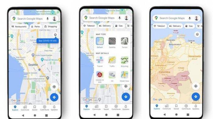 Fitur Terbaru, Google Maps Bisa Tampilkan Persebaran Pasien Covid-19