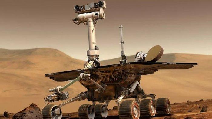 China Siap Saingi NASA Jelajahi Planet Mars Musim Panas Ini