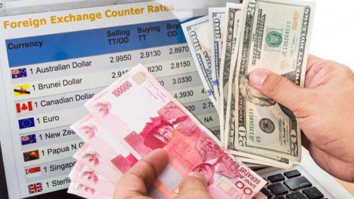 Kurs Rupiah Tembus Rp 15.000, Berikut Nilai Tukar Rupiah Terhadap Dollar AS di 10 Bank Besar