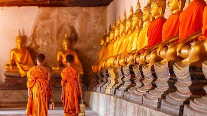 Kelompok Bersenjata Tembak Biksu di Thailand, Dua Tewas dan Lainnya Terluka