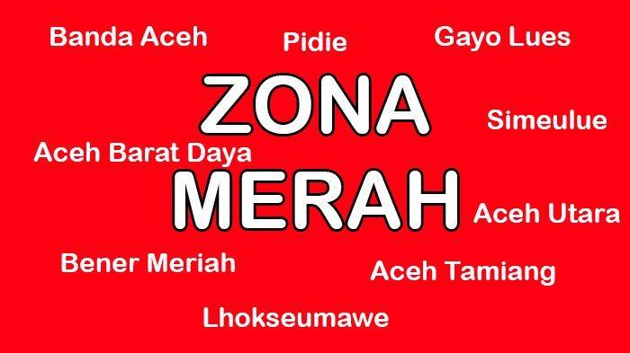9 Daerah di Aceh Masuk Zona Merah, Ini 8 Aturan yang Harus Diterapkan dan Dipatuhi