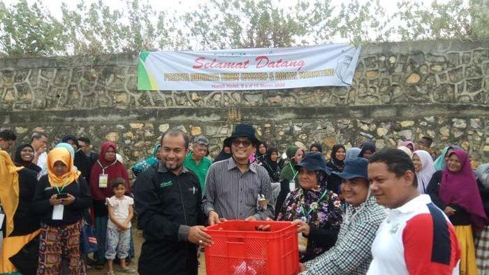 Bank Aceh Syariah Bekali 110 Petani Tiram