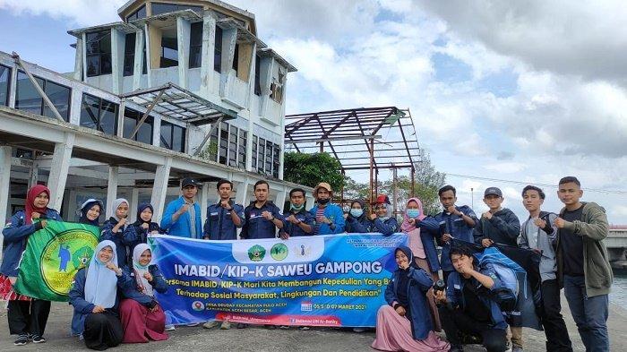 IMABID UIN Ar-Raniry Gelar Saweu Gampong di Pulo Aceh