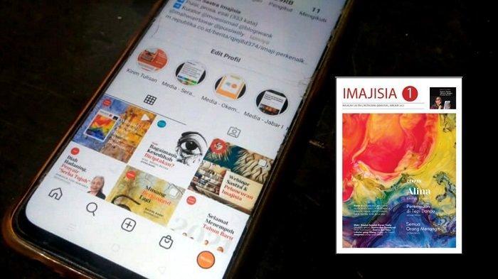 Imajisia versi Digital Diluncurkan, Sastra Digital Makin Anarkis