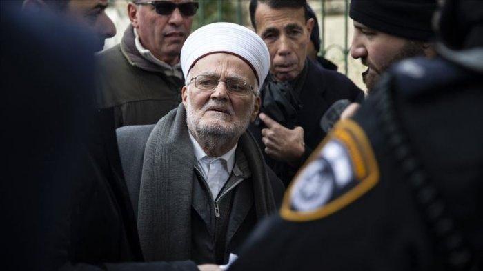 Israel Larang Imam Besar Masjid Al-Aqsa Bepergian, Begini Reaksi Sheikh Ekrima Sabri