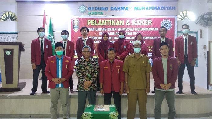 DPD IMM Aceh Lantik DPC IMM Abdya, Diketuai Abdul Janan