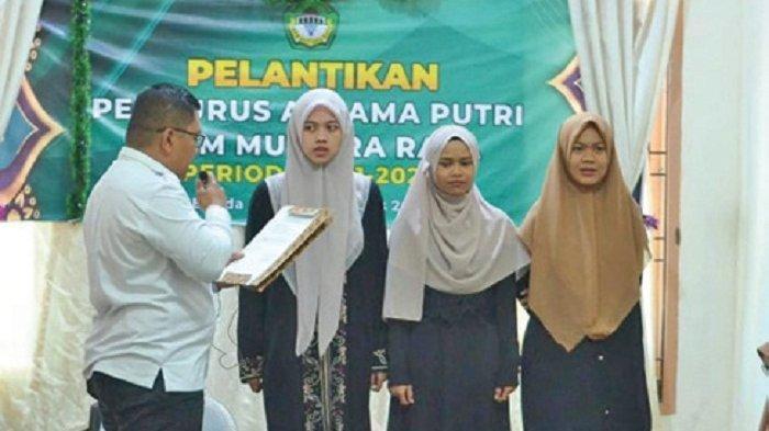 IMPM Mutiara Raya Lantik Pengurus Asrama Putri