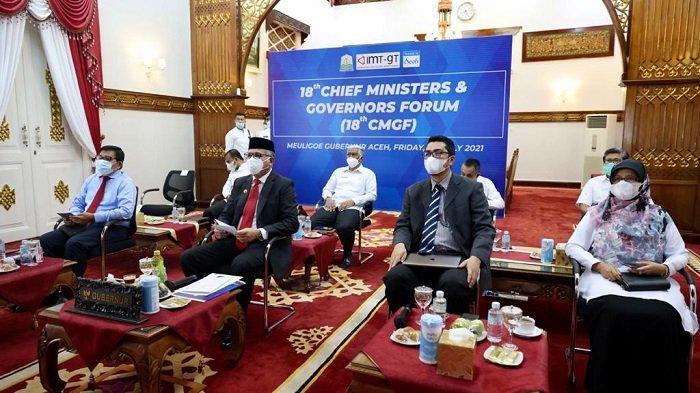 Aceh Terbuka untuk Investasi, Disampaikan Gubernur Dalam Pertemuan IMT-GT